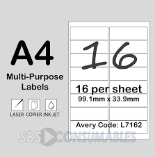 33 Labels Per Sheet Template by Printable White Sticky Address Labels Office Supplies Uk