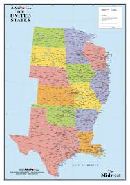 map us usa the midwest region map of midwestern united states within