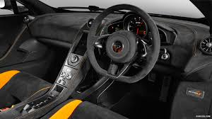 mclaren supercar interior 2016 mclaren 675lt chicane grey interior hd wallpaper 17