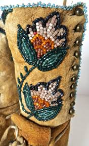 Moccasins Pair Of Plateau Beaded Child U0027s High Top Moccasins Circa 1890 For