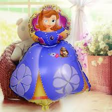 aliexpress buy foil balloons sofia princess balloon