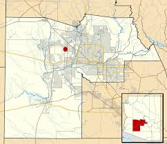 Arizona Map Cities by Waddell Arizona Wikipedia