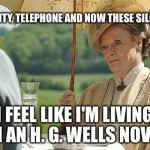 Downton Abbey Meme - countess violet from downton abbey blank template imgflip