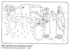 waar spreekt jezus met deze vrouw put van stip naar stip