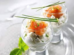 cuisine de a à z verrines verrines twarożek z wędzonym łososiem