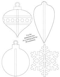 shrinky dink ornament templates template exle