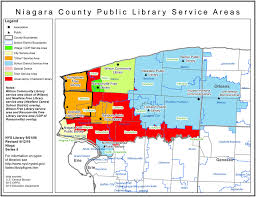 University Of Akron Map Niagara County Find Your Public Library In New York State