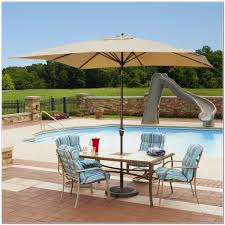 rectangular patio umbrellas with solar lights patios home