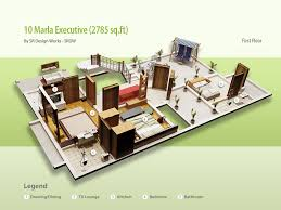 10 marla house designs civil engineer muhammad aneeb