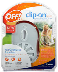 off clip on mosquito repellent fan unit review insect cop