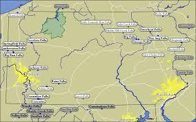 Pennsylvania waterfalls images Map of pennsylvania waterfalls jpg
