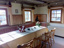 Wohnzimmer In English Ferienhaus Wanderhütte Waltersdorf