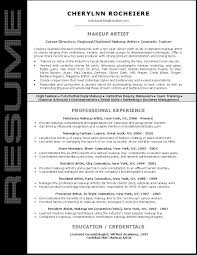 artist resume sample salon resume sample professional resume