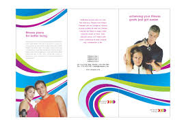 brochure templates for school project personal trainer print template pack from serif