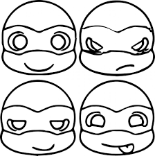 ninja turtle coloring pages ppinews co
