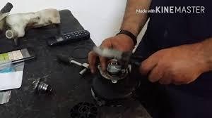 tutorial como montar kit reparacion bomba de agua aprilia sr
