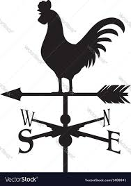 Ducks Unlimited Weathervane Rooster Silhouette Royalty Free Vector Image Vectorstock