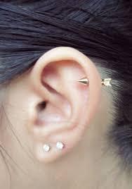 earrings for cartilage arrow cartilage stud piercing earring 18g 5 16 8mm