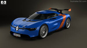 renault alpine concept 360 view of renault alpine a110 50 2012 3d model hum3d store