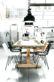 cuisine avec table à manger table a manger retro table a manger vintage bois cuisine avec salle