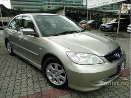honda civic 1 7 vtec for sale honda civic 2005 vtec 1 7 in selangor automatic sedan gold for rm