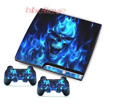 ps3 controller black friday skulls stickers skins decals for ps3 slim u0026 2 game controller blue