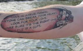 tattoo design trend love song lyrics tattoos