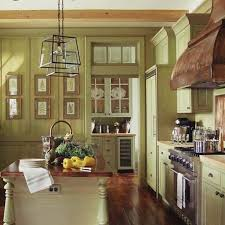 Kitchen Cabinets Green Green Country Kitchen W Inside Ideas