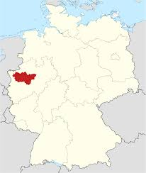 map of regions of germany regions of germany map