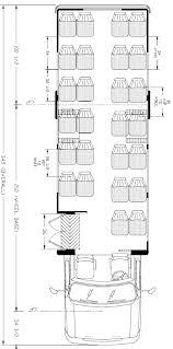 ameritrans 285 shuttle bus floorplans 28 passenger