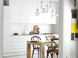 Small Dining Sets by Kitchen Captivating White Scandinavian Style Kitchen Design With