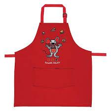 tablier de cuisine enfant tablier de cuisine enfant brodé incroyable talent souris
