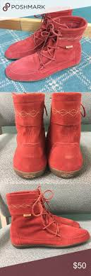womens ankle boots size 11 wide best 25 moccasin ankle boots ideas on moccasins
