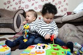 Interacial Lesbians - two white lesbians give birth for interracial couple