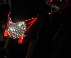 gsx s1000 tail light red fangs for the gsx s1000 suzuki gsxs1000 forum