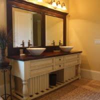 Bathroom Lighting Mirror - bathroom white wooden dresser table with lighted mirror plus