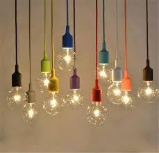 Light Bulb Ceiling Light Muuto Pendent Light Multicolour Silica Gel L Holder Pendant