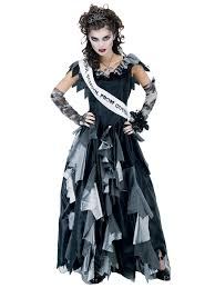 women zombie prom queen costume horror halloween costumes costumes