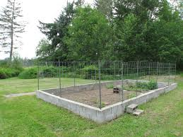 deer proof vegetable garden ft deer proof fence surrounds