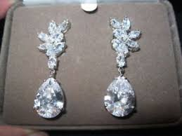 silver dangle earrings for prom i ebayimg images g dlaaaoswmvtzwe09 s l300 jpg