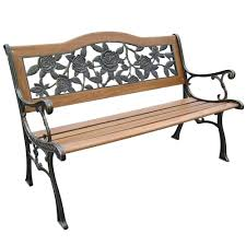 Wrought Iron Patio Furniture For Sale by Black Wrought Iron Glider Bench Small Backless Wrought Iron Bench