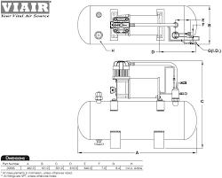 amazon com viair 150 psi high flow air source kit automotive