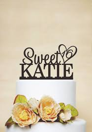 sweet 16 cake topper custom cake topper with any name and age sweet 16 cake topper