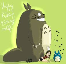 Birthday Gift Meme - birthday gift to a friend totoro by decaystoonstruck on deviantart