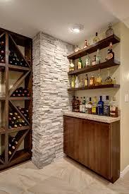 Floating Floor In Basement - basement bar shelving transitional basement denver by