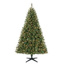 time pre lit 6 5 windham pine artificial tree