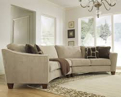 curved couch living room living room furniture sectional sofa modern basement