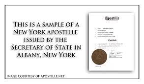 new york apostille apostille service by apostille net
