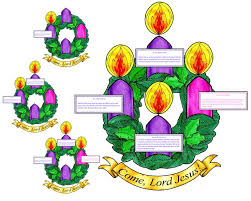 catholic advent wreath clipart 77