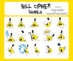 bill cipher shimeji by inugurl107 on deviantart